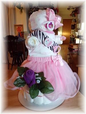 """Diaper Cake """"Baby Bellah"""""""